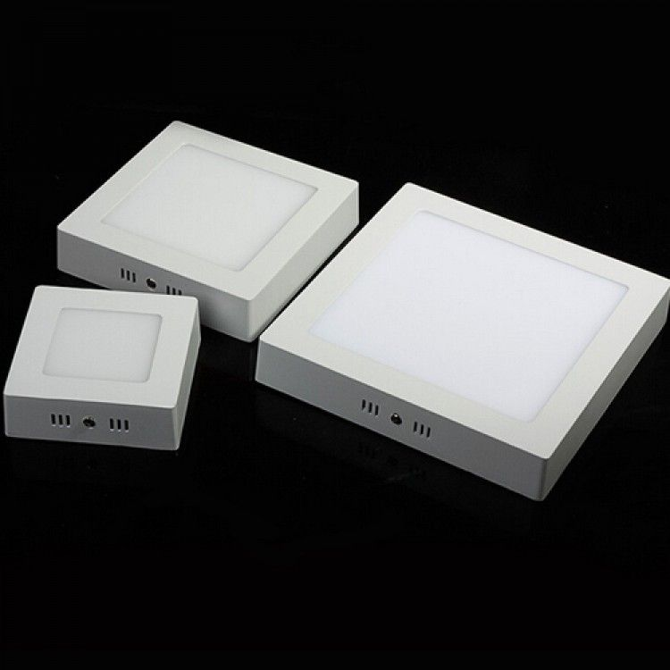 Ceiling Mounted Led Emergency Lights : Surface mounted led panel light square ceiling downlight